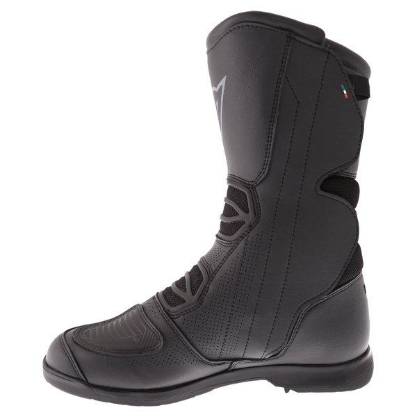 Dainese Solarys Goretex Black Motorcycle Boots Inside leg