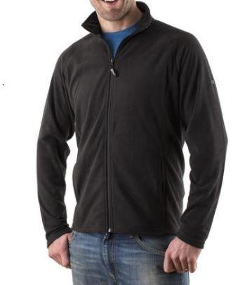 Micro Fleece Jacket Black Clothing