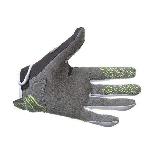 Alpinestars Radar Flight Black Yellow Motocross Gloves Palm