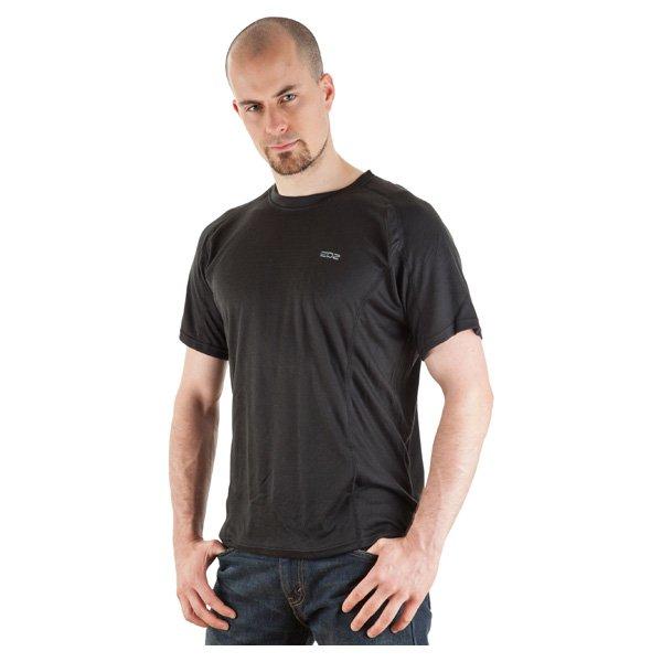 EDZ Sports Base Layer Black T-Shirt Front