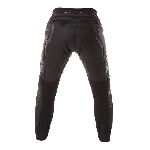 BKS Evolution Pro Black Leather Motorcycle Jeans Rear