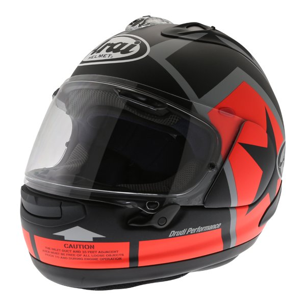 Arai RX-7V Maverick Full Face Motorcycle Helmet Front Left