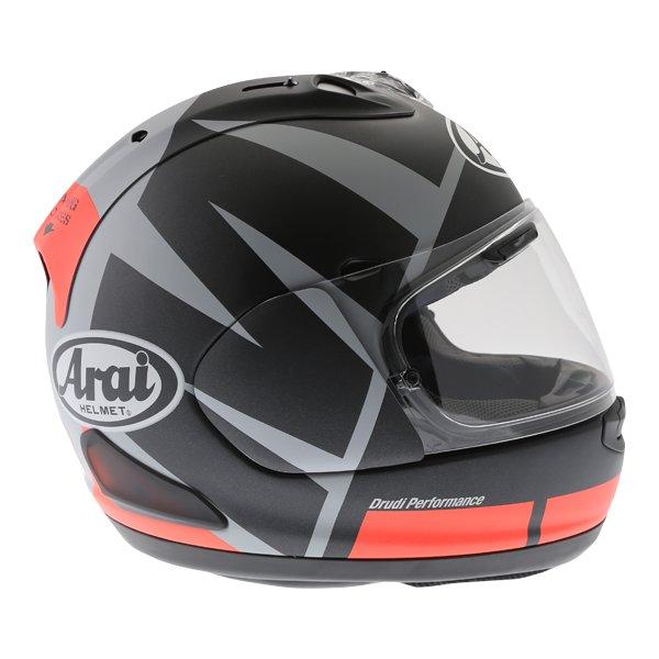Arai RX-7V Maverick Full Face Motorcycle Helmet Right Side