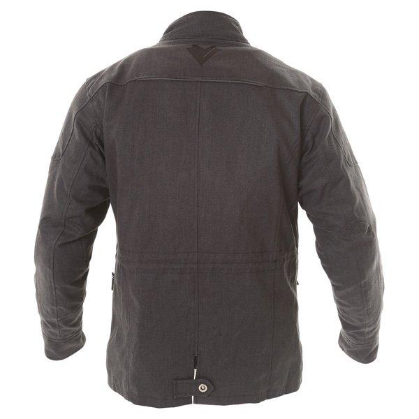 Frank Thomas City Mens Black Textile Motorcycle Jacket Back