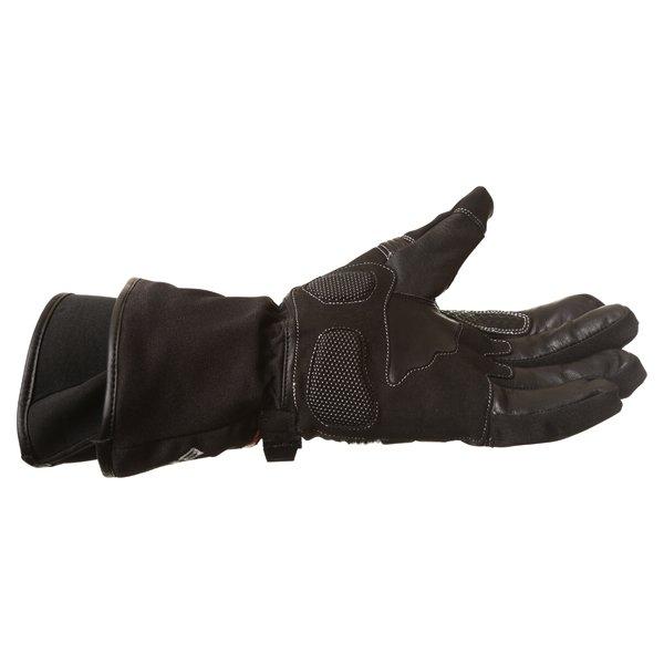 BKS Heaton Black Motorcycle Gloves Little finger side