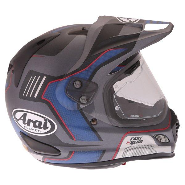 Arai Tour-X4 Vision Grey Adventure Motorcycle Helmet Right Side