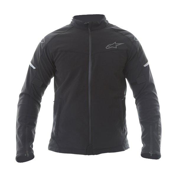 Alpinestars Zephyr DS Mens Black Textile Motorcycle Jacket Front