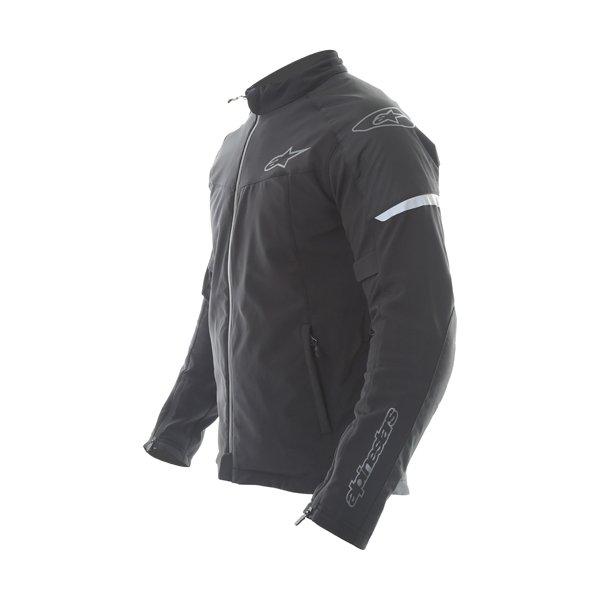 Alpinestars Zephyr DS Mens Black Textile Motorcycle Jacket Side
