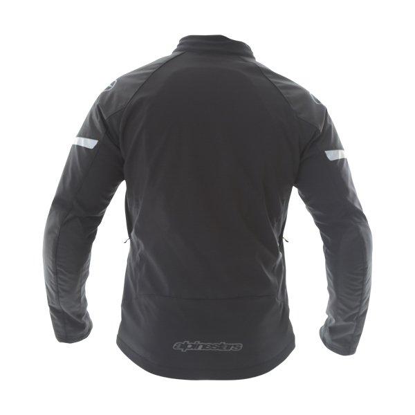 Alpinestars Zephyr DS Mens Black Textile Motorcycle Jacket Back