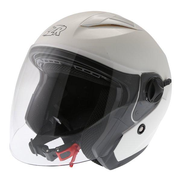 JH1 Z-Line Helmet White Open Face Motorcycle Helmets