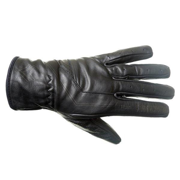 01-17 Modica Gloves Black Motorcycle Gloves