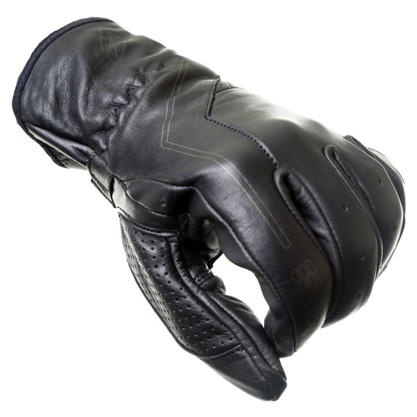 Frank Thomas Modica Black Motorcycle Gloves Knuckle