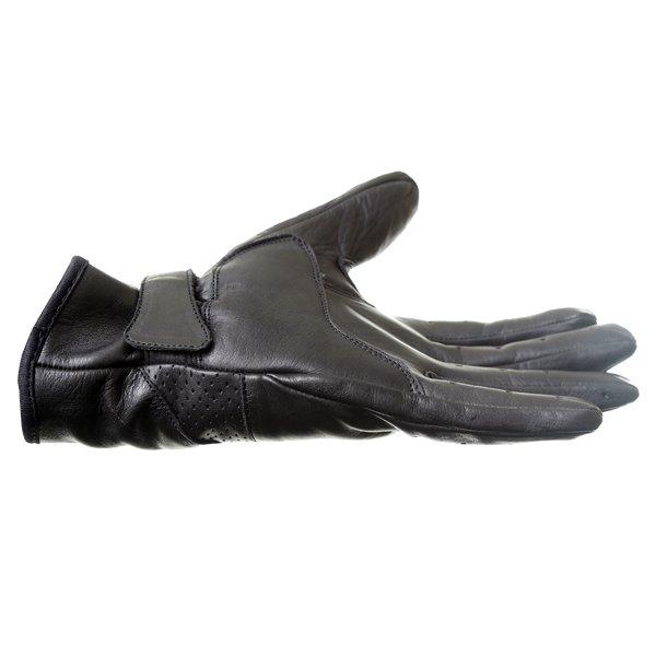 Frank Thomas Modica Black Motorcycle Gloves Little finger side