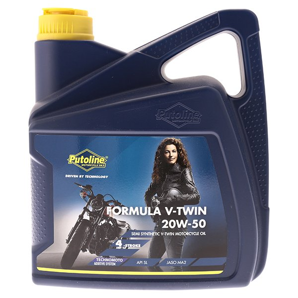 Putoline Formula V Twin 20w50 Motorcycle Oil 4Litres