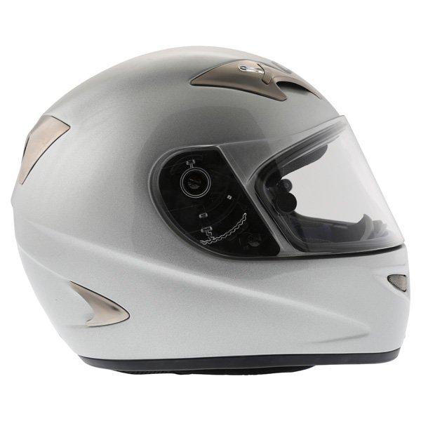 AGV TI Tech Silver Helmet Right Side