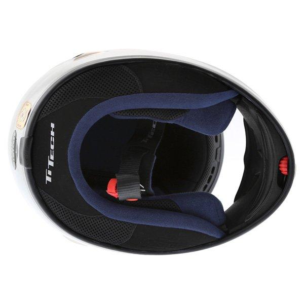 AGV TI Tech Silver Helmet Inside