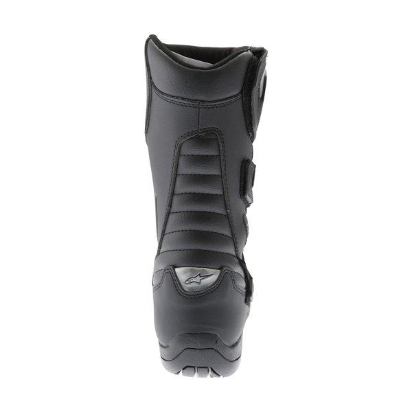 Alpinestars Radon Drystar Black Motorcycle Boots Heel