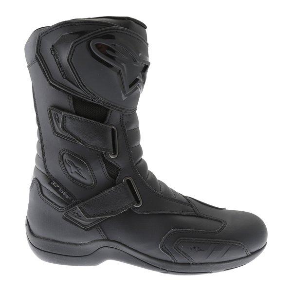 Alpinestars Radon Drystar Black Motorcycle Boots Outside leg