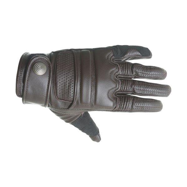 Alpinestars Robinson Brown Motorcycle Gloves Back