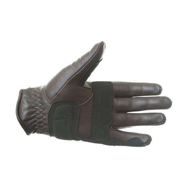 Alpinestars Robinson Brown Motorcycle Gloves Palm