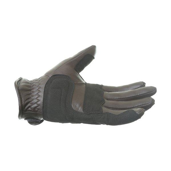Alpinestars Robinson Brown Motorcycle Gloves Little finger side