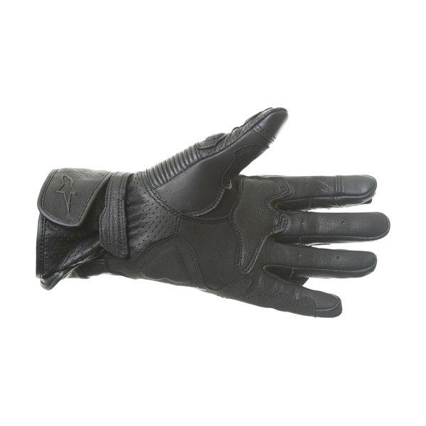 Alpinestars SP-2 V2 Black Motorcycle Gloves Palm