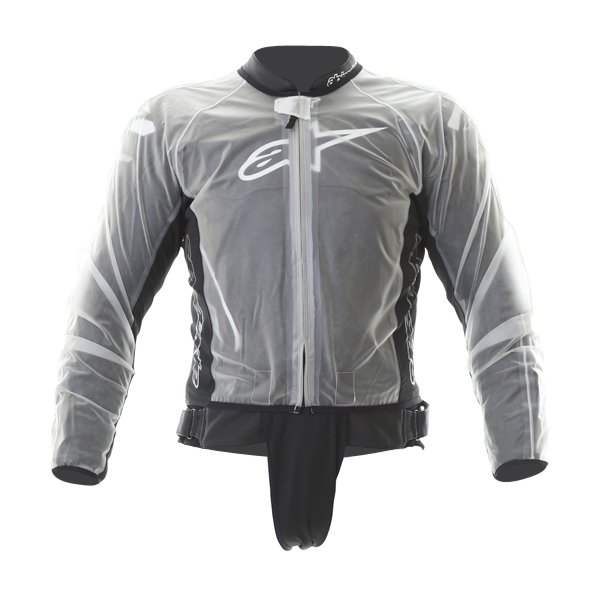 Alpinestars Clear Racing Rain Jacket Front