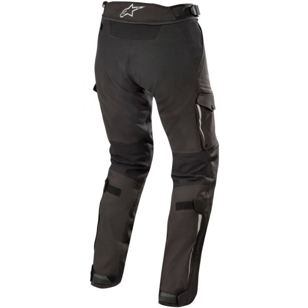 Alpinestars Yaguara Drystar Tech Air Black Anthractice Textile Motorcycle Pants Rear