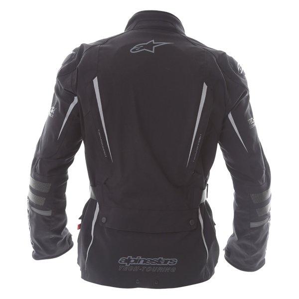 Alpinestars Yaguara Drystar Tech Air Black Anthractice Textile Waterproof Motorcycle Jacket Back