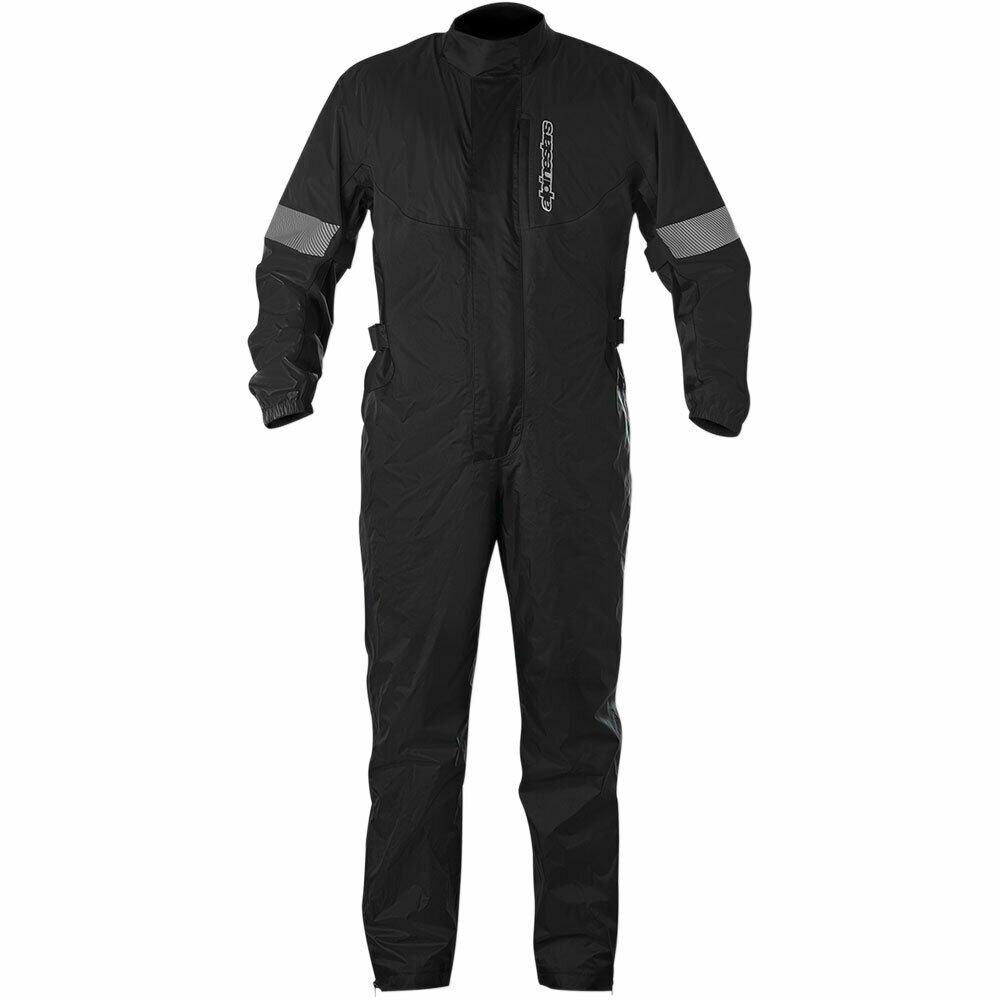 Alpinestars Hurricane Rain Suit Black Black