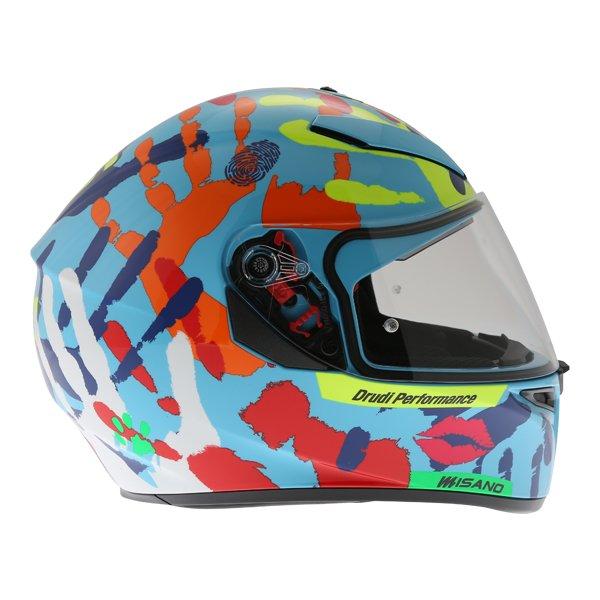 AGV K3 SV Misano 2014 Full Face Motorcycle Helmet Right Side