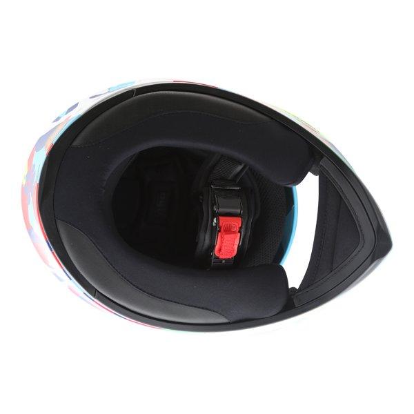 AGV K3 SV Misano 2014 Full Face Motorcycle Helmet Inside