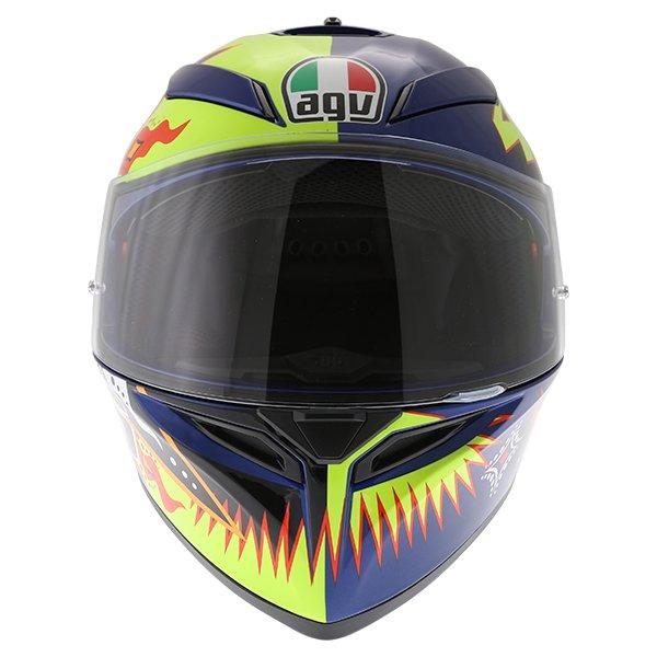 AGV K3 SV Rossi 2002 Full Face Motorcycle Helmet Front