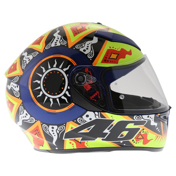 AGV K3 SV Rossi 2002 Full Face Motorcycle Helmet Right Side