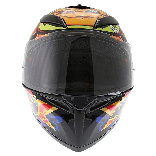 AGV K3 SV Mugello 2001 Black Full Face Motorcycle Helmet Front
