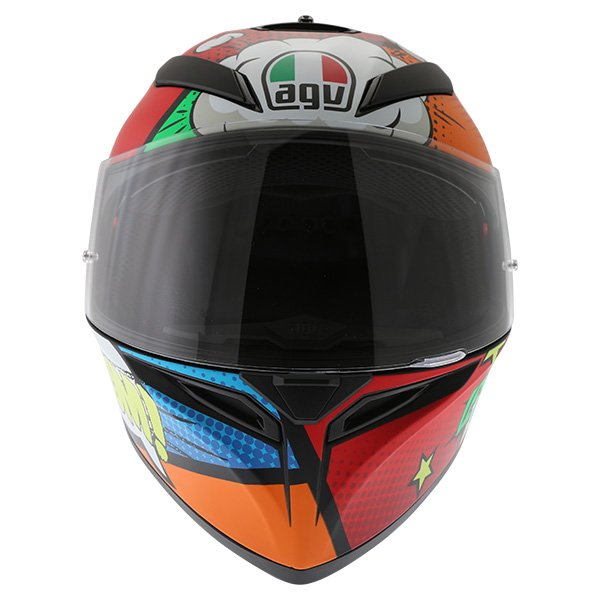 AGV K3 SV Balloon Full Face Motorcycle Helmet Front