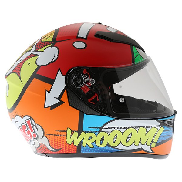 AGV K3 SV Balloon Full Face Motorcycle Helmet Right Side
