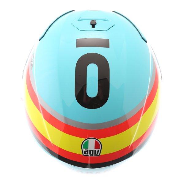 AGV K3 SV Mir 2017 Full Face Motorcycle Helmet Top