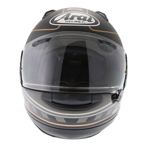 Arai QV Dark Citizen Full Face Motorcycle Helmet Front