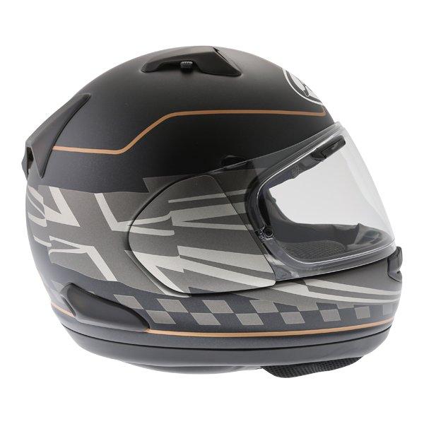 Arai QV Dark Citizen Full Face Motorcycle Helmet Right Side