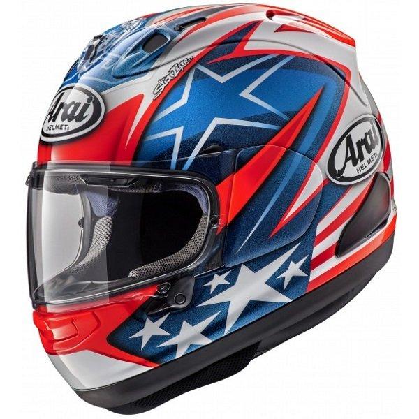 Arai RX-7V Hayden WSBK Full Face Motorcycle Helmet Left Side
