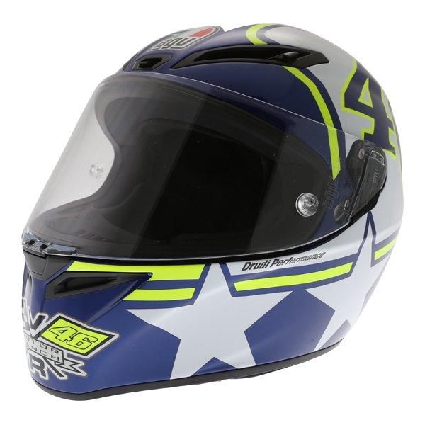 AGV Veloce S Ranch Full Face Motorcycle Helmet Front Left
