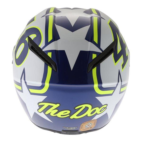 AGV Veloce S Ranch Full Face Motorcycle Helmet Back