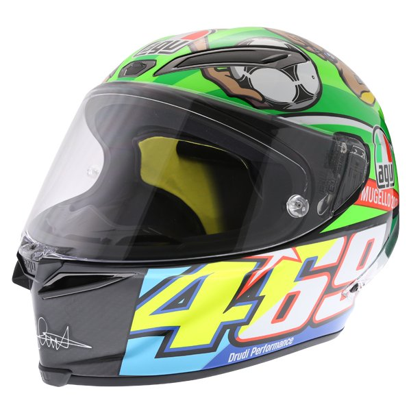 AGV Pista GP-R Rossi Mugello 2017 Ltd Full Face Motorcycle Helmet Front Left