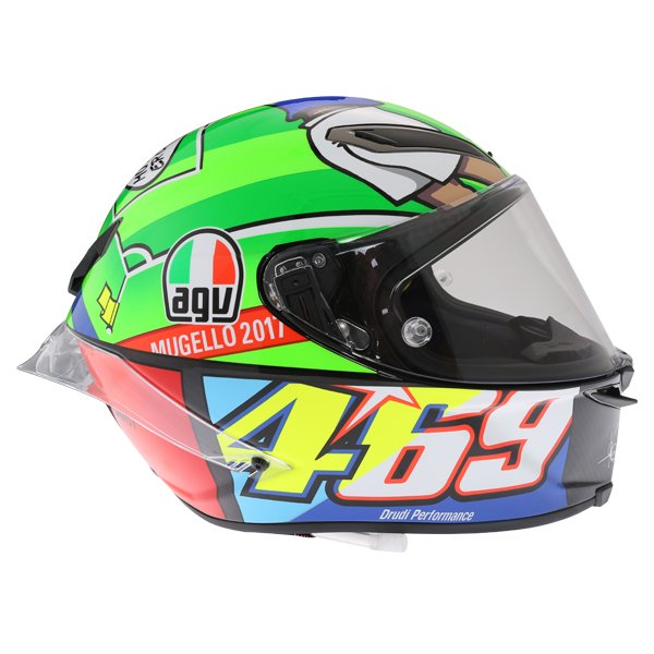 AGV Pista GP-R Rossi Mugello 2017 Ltd Full Face Motorcycle Helmet Right Side