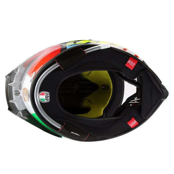 AGV Pista GP-R Rossi Mugello 2017 Ltd Full Face Motorcycle Helmet Inside