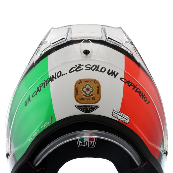 AGV Pista GP-R Rossi Mugello 2017 Ltd Full Face Motorcycle Helmet