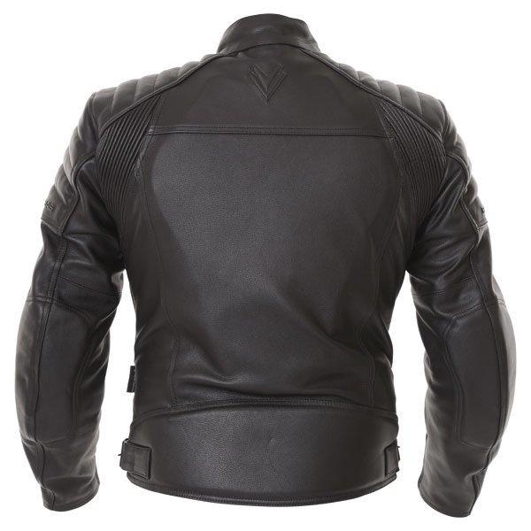 Frank Thomas FTL400 Black Leather Motorcycle Jacket Back