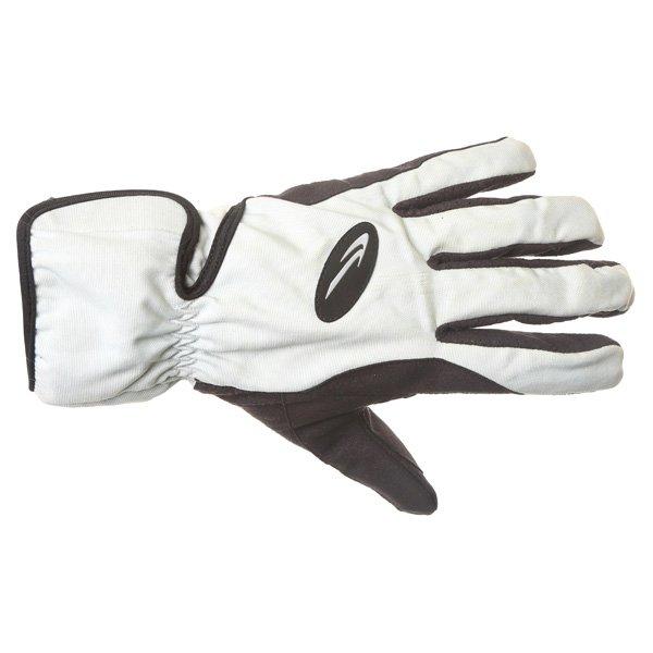 Corner Tex A Grey Black Motorcycle Gloves Back