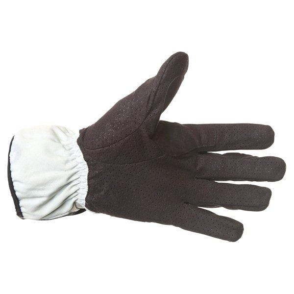 Corner Tex A Grey Black Motorcycle Gloves Palm